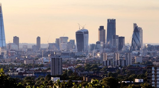London Skyline Commercial Image