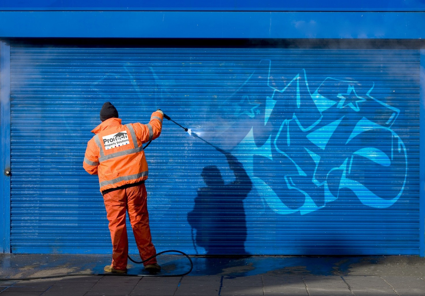 Chewing Gum And Graffiti Removal