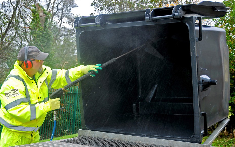 Bin Store Cleaning Service