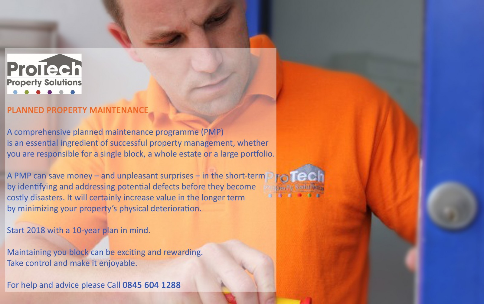 Planned Property Maintenance Protech Property Solutions