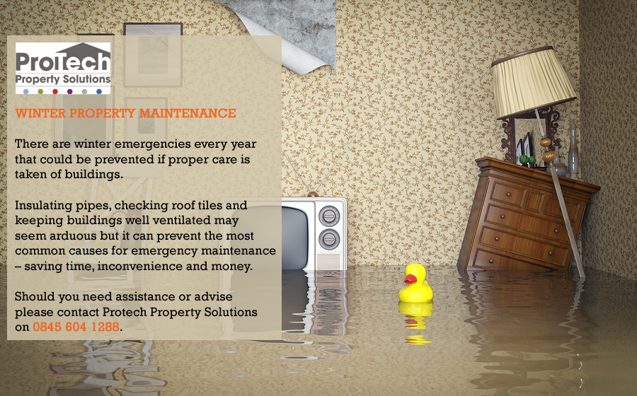 Protect your Property from Winter Weather