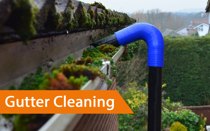 Chesterfield gutter cleaning led inground