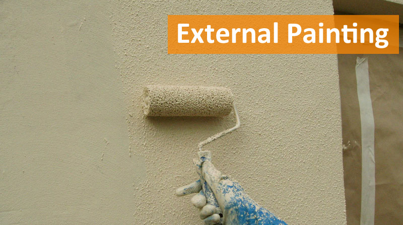 Painting Exterior Walls Protech Property Solutions