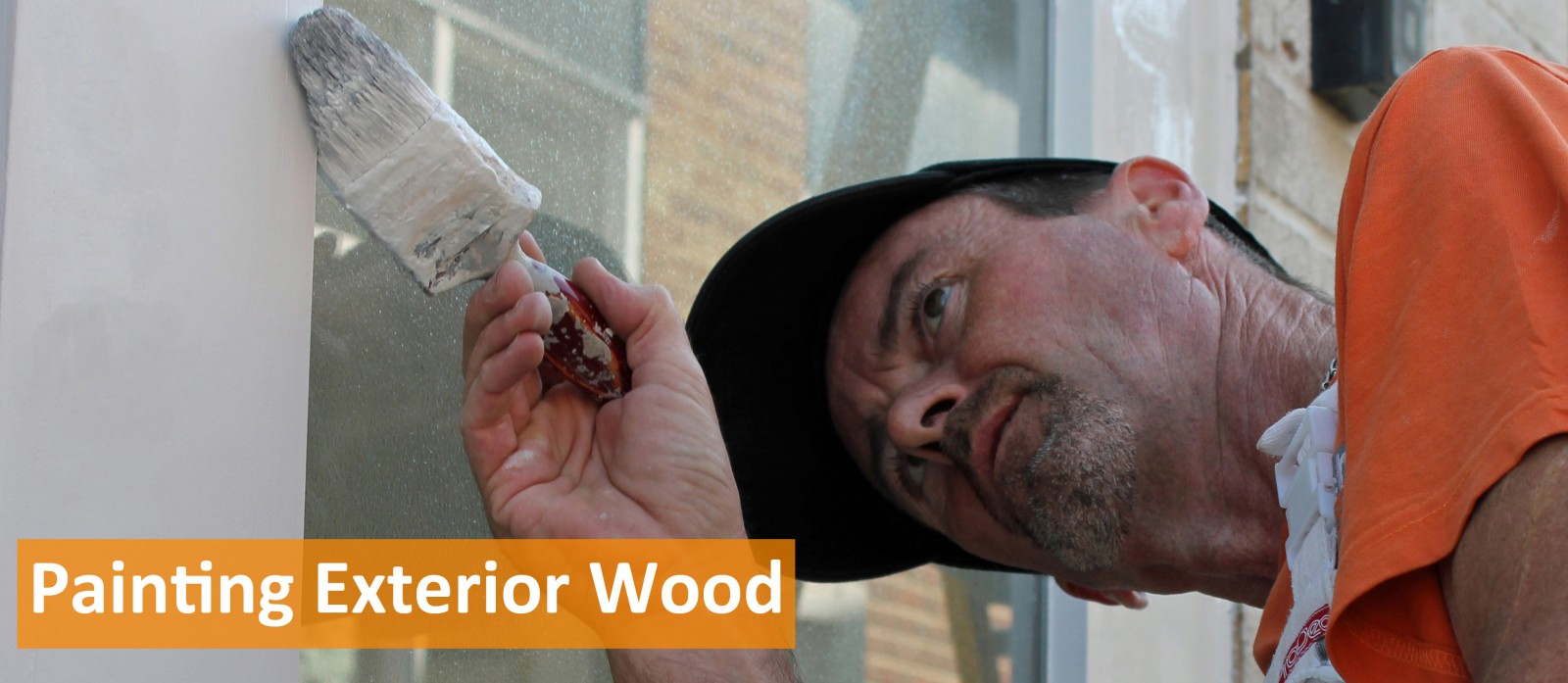 Painting exterior wood