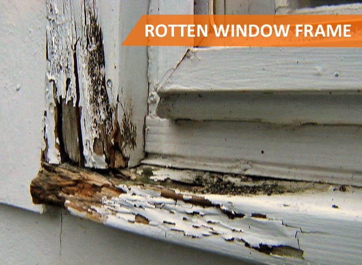 Repair Rotten Exterior Wood Window Frame Protech
