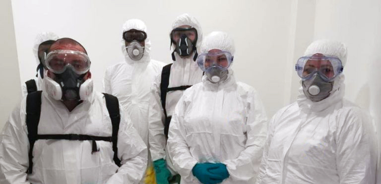 Specialist Disinfection Cleaning Services
